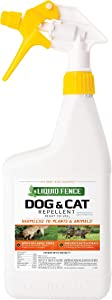 Liquid Fence Dog & Cat Repellent Ready-to-Use, 32-Ounce