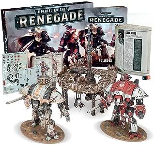 Warhammer 40K: IMPERIAL KNIGHTS - RENEGADE: Amazon.es: Juguetes y juegos