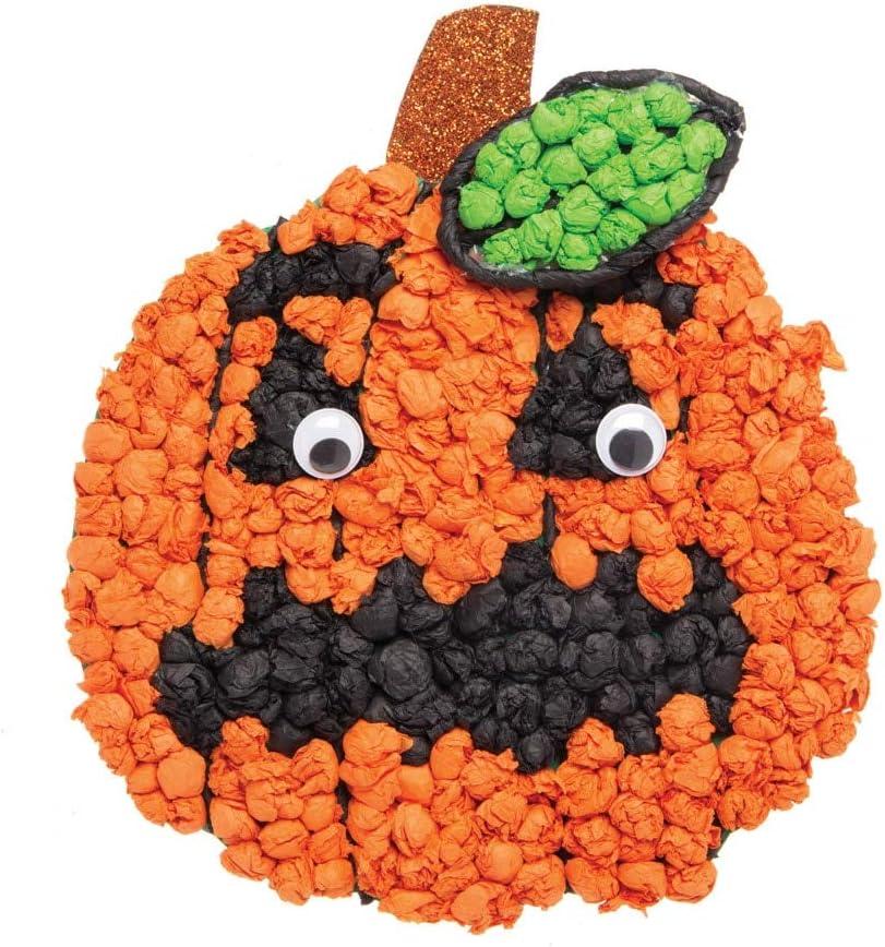 Baker Ross Carta Velina Halloween Confezione Risparmio Confezione da 25
