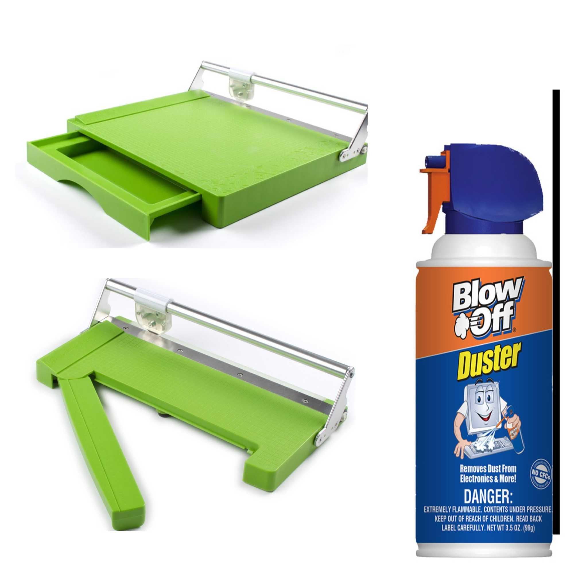CutterPillar PRO ABS Paper Trimmer & Crop Paper Trimmer Bundle by Cutterpillar