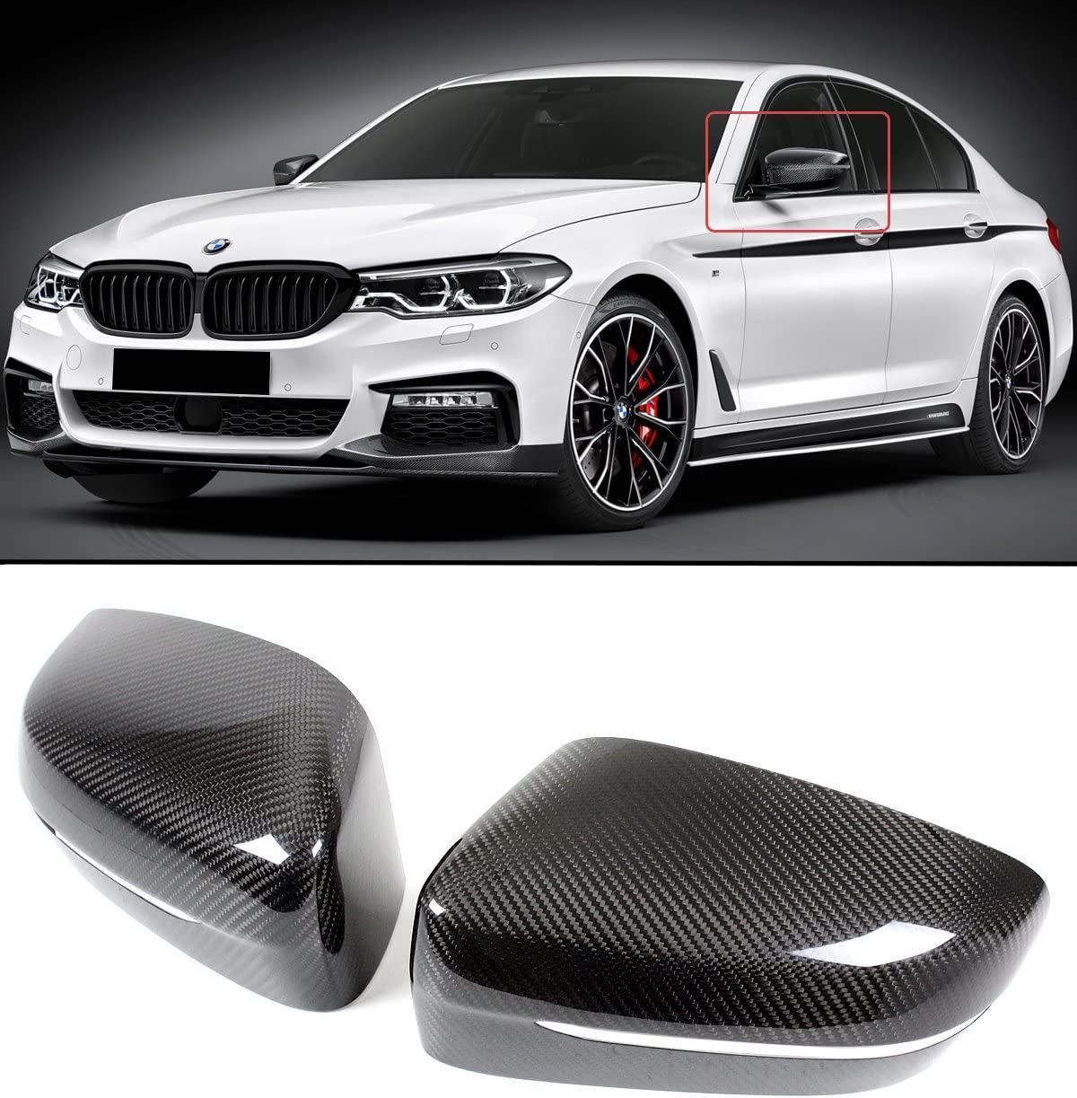 CarsCover Custom Fit 2012-2019 BMW 5 Series M5 528i 530i 530e 535i 535d 540i 550i Car Cover Heavy Duty Weatherproof Ultrashield Covers 528 530 535 540 550