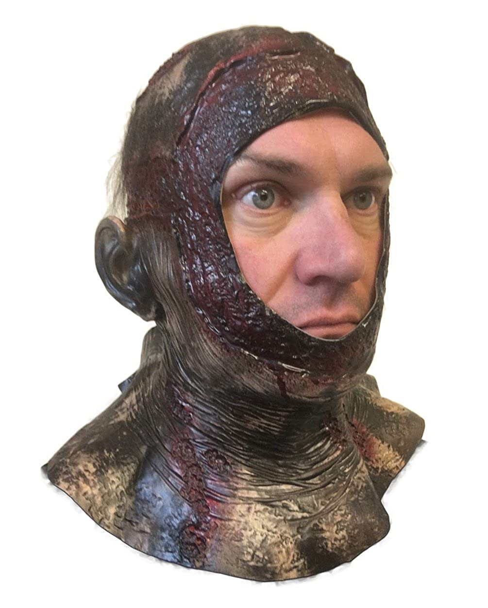 Rubber Johnnies Rotting Bloody Hood Mask, Jason, Halloween, Horror Costume Rubber Johnnies International