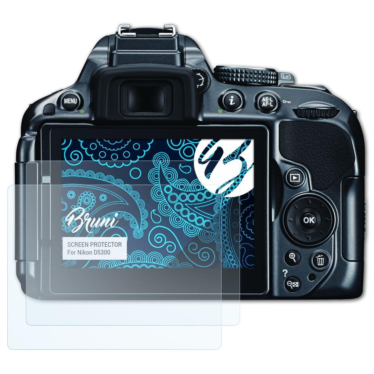 Bruni Película Protectora para Nikon D5300 Protector Película ...