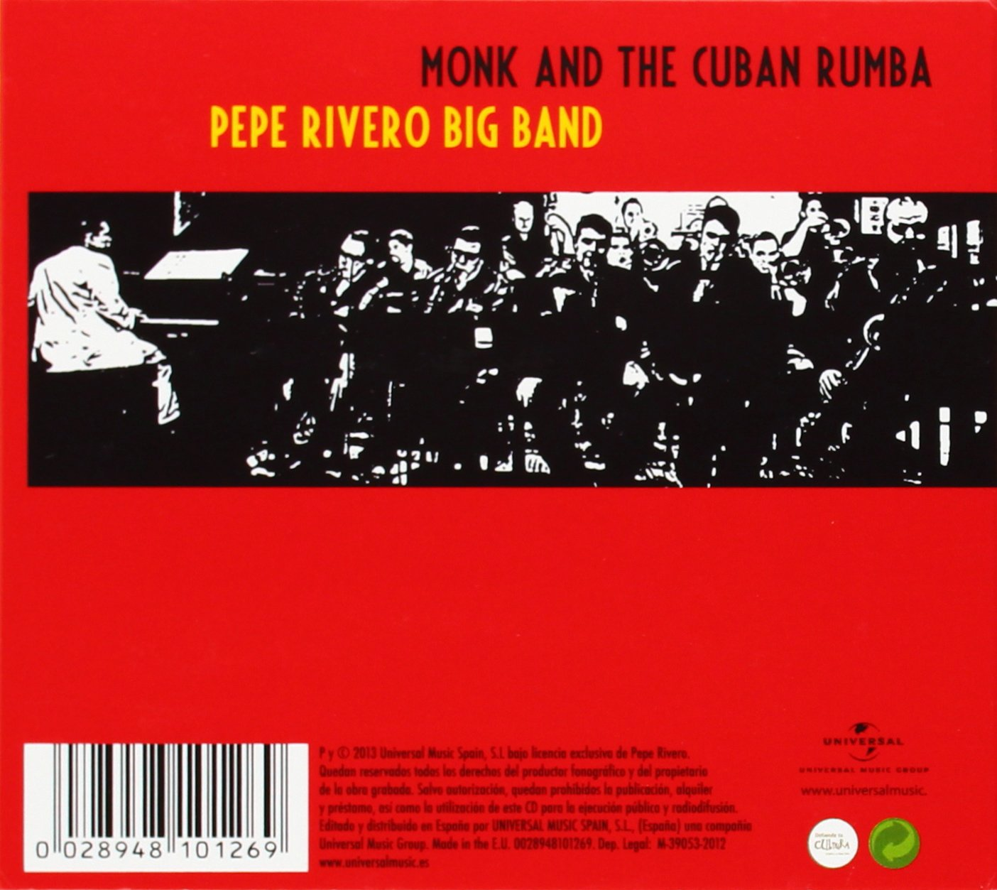 Homage To Monk: Pepe Rivero: Amazon.es: Música