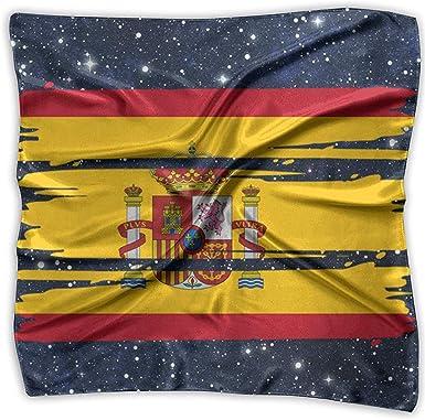 TRIR square scarf Bufanda cuadrada con bandera de España - Pañuelo ...