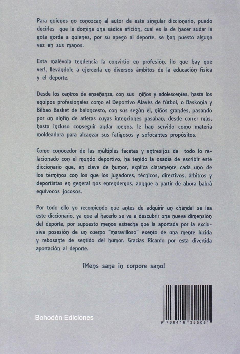 Diccionario Humorístico Deportivo (Bohodón Ediciones): Amazon.es ...