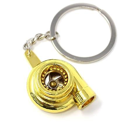 Turbo llavero - Cromado Dorado de Boost key. com: Amazon.es ...