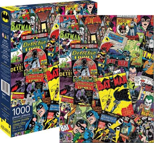 Aquarius Batman Collage 1000 Piece Jigsaw Puzzle