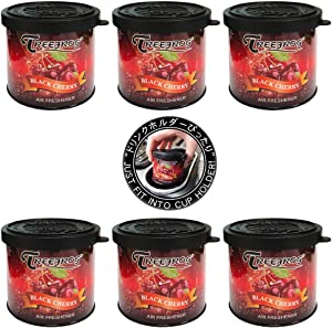 Treefrog Classic Black Cherry Scent 6 cans, Tree Frog Natural Car Air Freshener