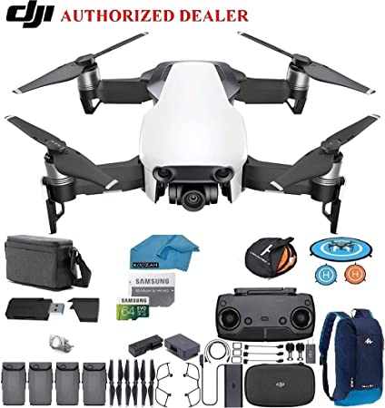 29d5d13f86e DJI Mavic Air Fly More Combo Drone - Quadcopter with 64gb SD Card - 4K  Professional Camera Gimbal – 4 Battery Bundle - Kit - with Must Have  Accessories ...