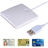 Secure Portable Usb Chip Smart Card Reader Writer Support Sim Card /Credit Card / Id Card/ EMV Card for Laptops