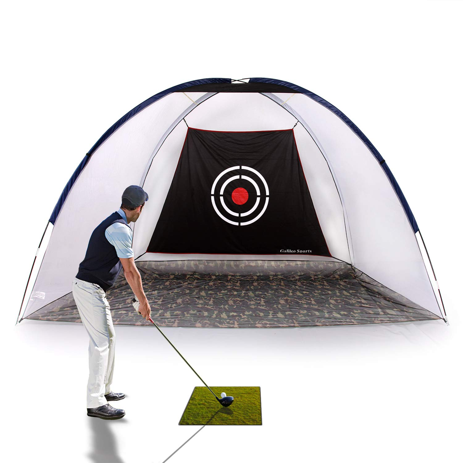 Galileo Golf Hitting Nets Driving Chipping Practice Golf Net with Target for Outdoor&Sports