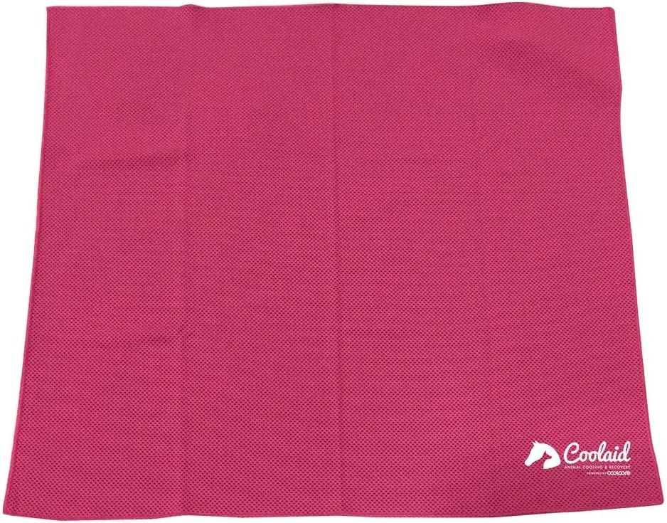 "Coolaid Cooling Towel and Bandana, Instant Cooling Relief for Sports, Workout, Fitness, Gym, Yoga, Pilates, Travel, Camping & More Large- 24"" x 24"" Extra Large- 36"" x 24"""