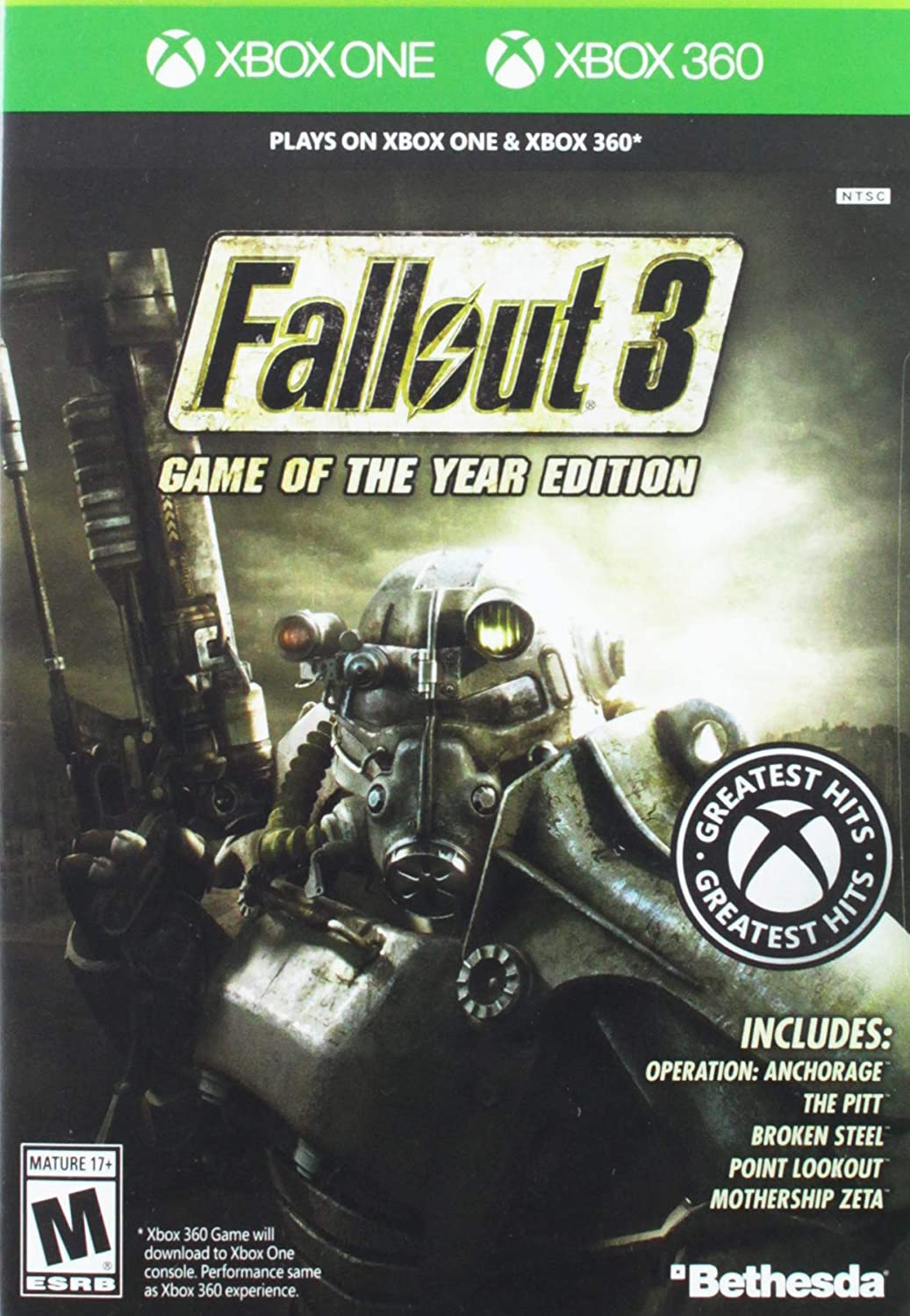 Amazon com: Fallout 3: Game of the Year Edition: Xbox 360