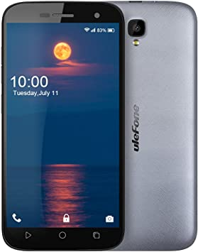 "Ulefone U007 Pro Smartphone Libre 4G Android 6.0 Cámara 8.0MP 5.0""HD Pantalla MTK6735 Quad Core 1GB RAM+8GB ROM: Amazon.es: Electrónica"
