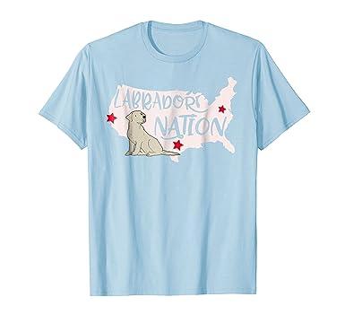 Amazon Com Patriotic Labrador Retriever T Shirt Clothing