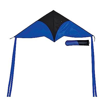 In the Breeze Blue Delta Travel Kite, 55-Inch : Garden & Outdoor
