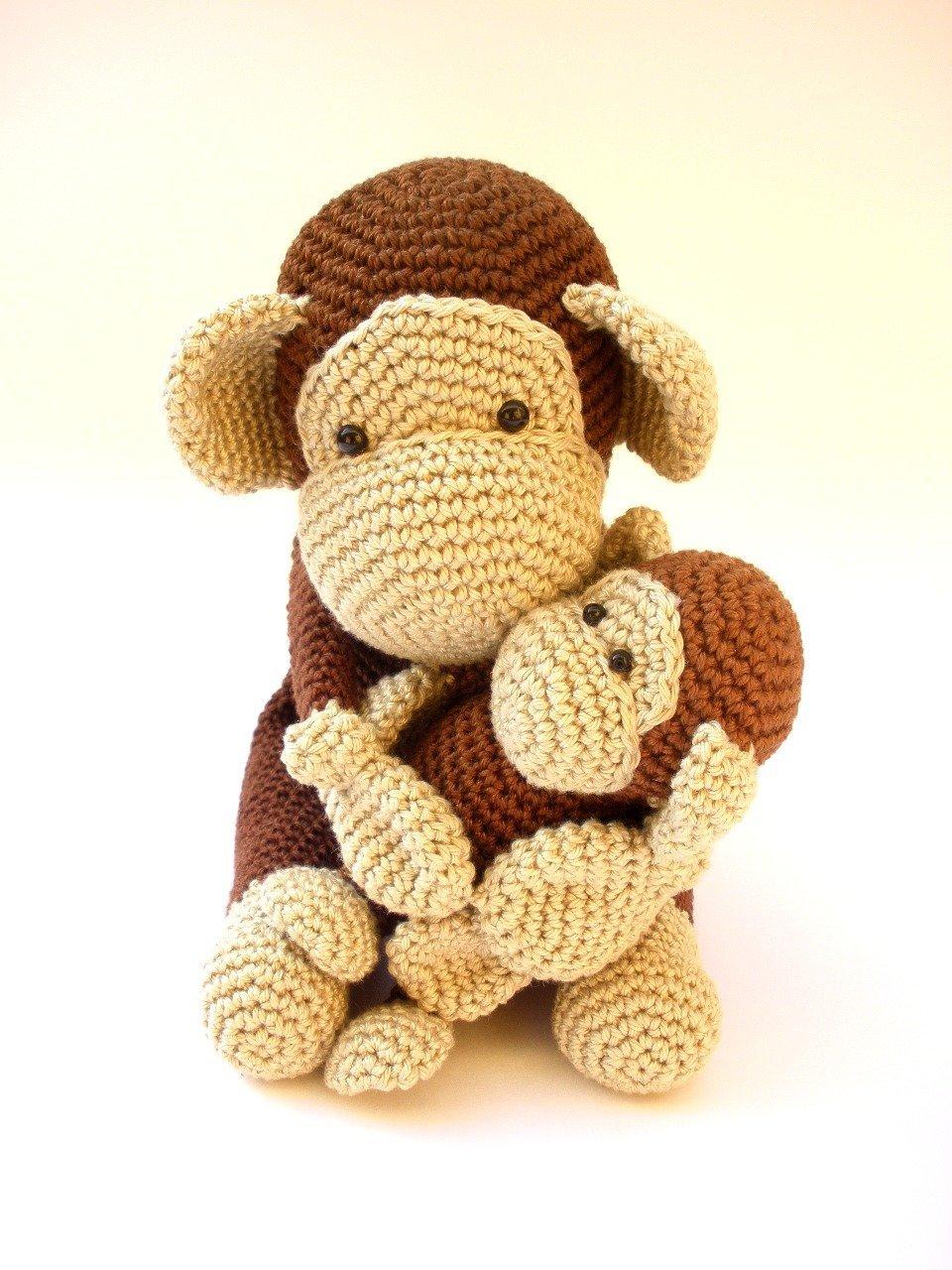 crochet PATTERN : Monkey Amigurumi Monkey pattern Crochet pattern ... | 1280x960