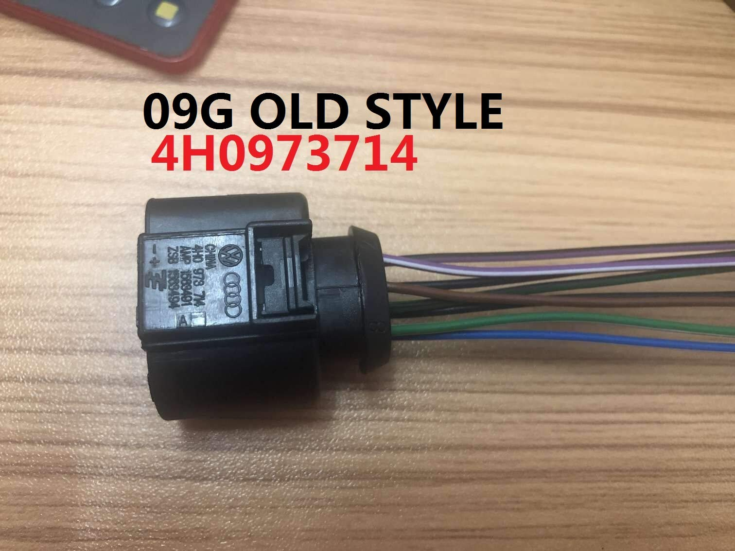 transmission NEW style 09GValve body VB Connector with wires mechatronics wire harness part 4H0973714
