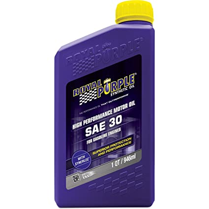 Sae 30 Oil >> Royal Purple Roy01030 Sae30 Synthetic Oil 1 Quart 1 Pack