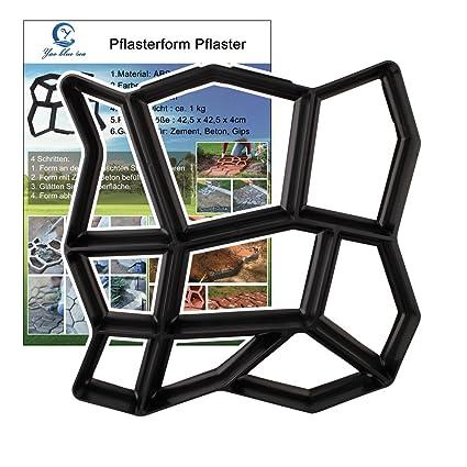 YAOBLUESEA Formulario Concreto Forma Pasarelas Encofrados Moldes Moldes Moldes plásticos para hormigón Pasarelas para jardín 42