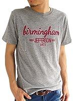 (アーケード) ARCADE メンズ Tシャツ プリントTシャツ カジュアル 半袖 丸首 クルーネック ロゴTシャツ