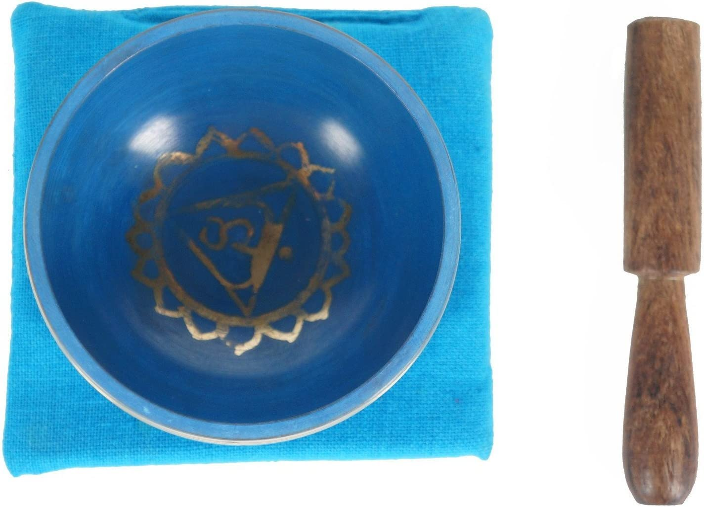JIVE Tibetan Singing Bowl Palm Size SACRAL Chakra Premium Singing Bowl Gift Set SACRAL Chakra JIVE FEDERAL TRADEMARK BRAND
