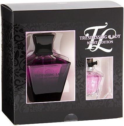 Trespassing Night – Estuche de perfume de mujer genérico – Aroma extremadamente similar al de un perfume de lujo – Regalo ideal para Navidad o San Valentín: Amazon.es: Belleza