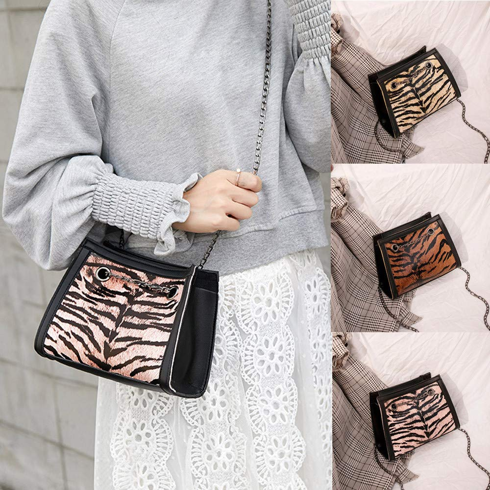 Amazon.com: Tote Bags Travel Chain Totes Bag Shopping Tiger pattern Tote for Women Handbag: BingYELH