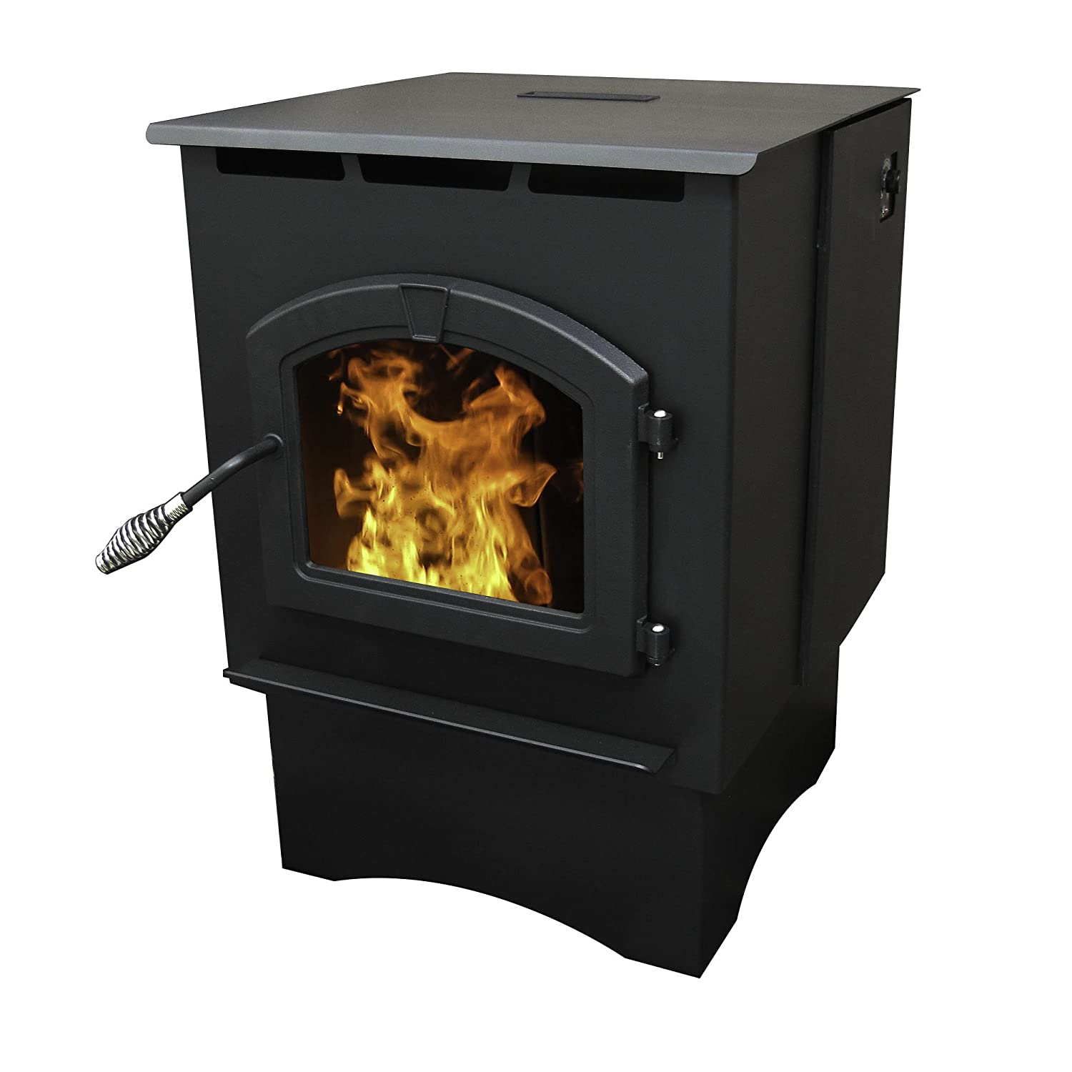 Amazon.com: Pleasant Hearth Medium 35000 BTU's Pellet Stove with ...