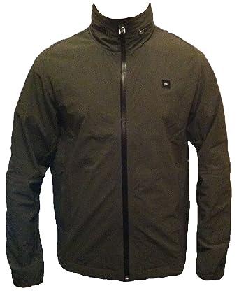 Nike Men s Athletic Department Black Label Zip Up Light Dri-Fit Casual  Olive Green Hooded Coat Jacket S M L XL 24dd972b8
