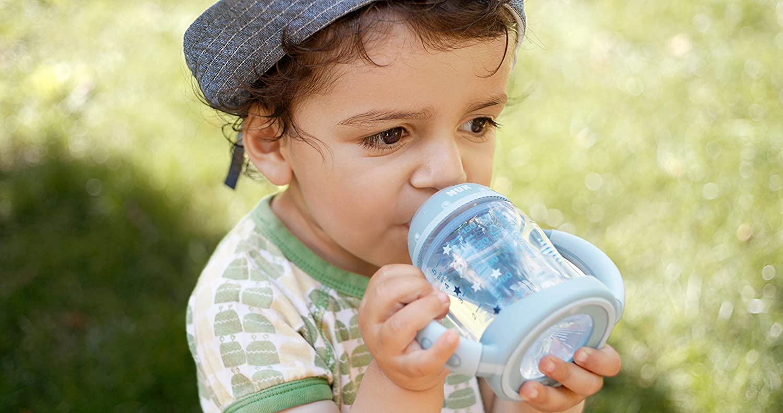 6-18 Monate 150 ml NUK First Choice Trinklernbecher,auslaufsicher Silikon-Trinkt/ülle BPA-frei Rosa Girl