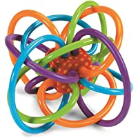 Baby Bucket Rattle Teether Toy For Infants(Multicolor-2)