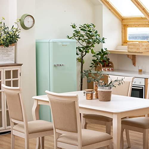 Furgle Dining Set Rectangular Rubber Wood Kitchen Table