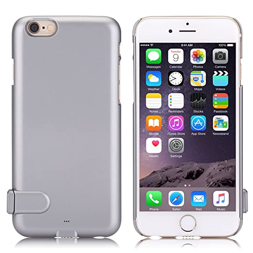 33 opinioni per Mbuynow iPhone 6 / 6s Power Case Ultra Slim Ricaricabile- Powerbank / Batteria