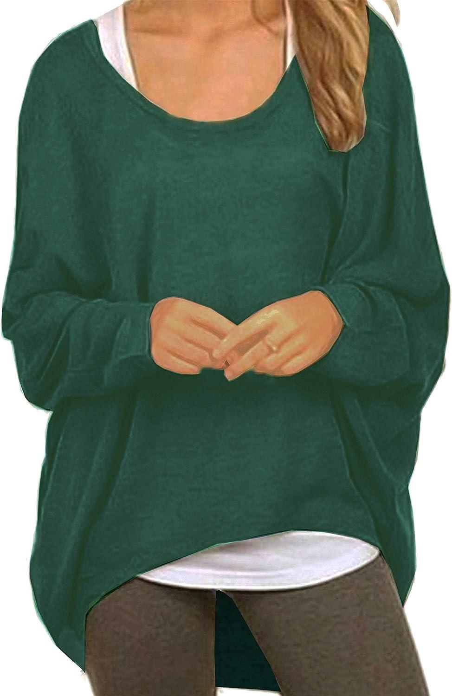 Felpa da donna asimmetrica jumper Meyison