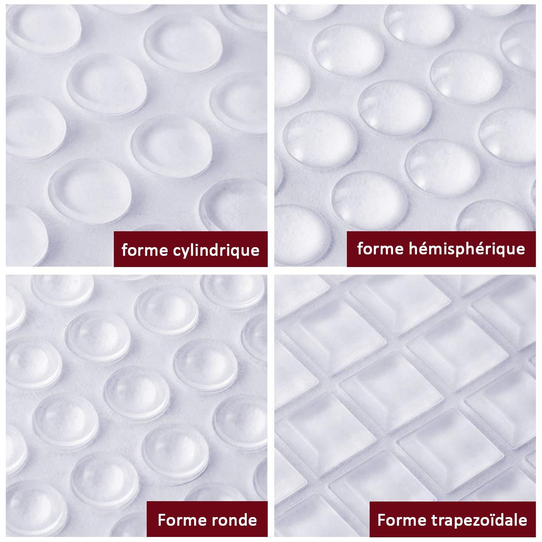 ✮GARANTIE A VIE✮-CZ Store/®-Pieds adhesifs|Lot de 348 PCS//9 TAILLES|✮Marque Fran/çaise✮-butee pour protection meuble//mur//porte-butoir adhesif antibruit//antirayure-tampon caoutchouc autocollant