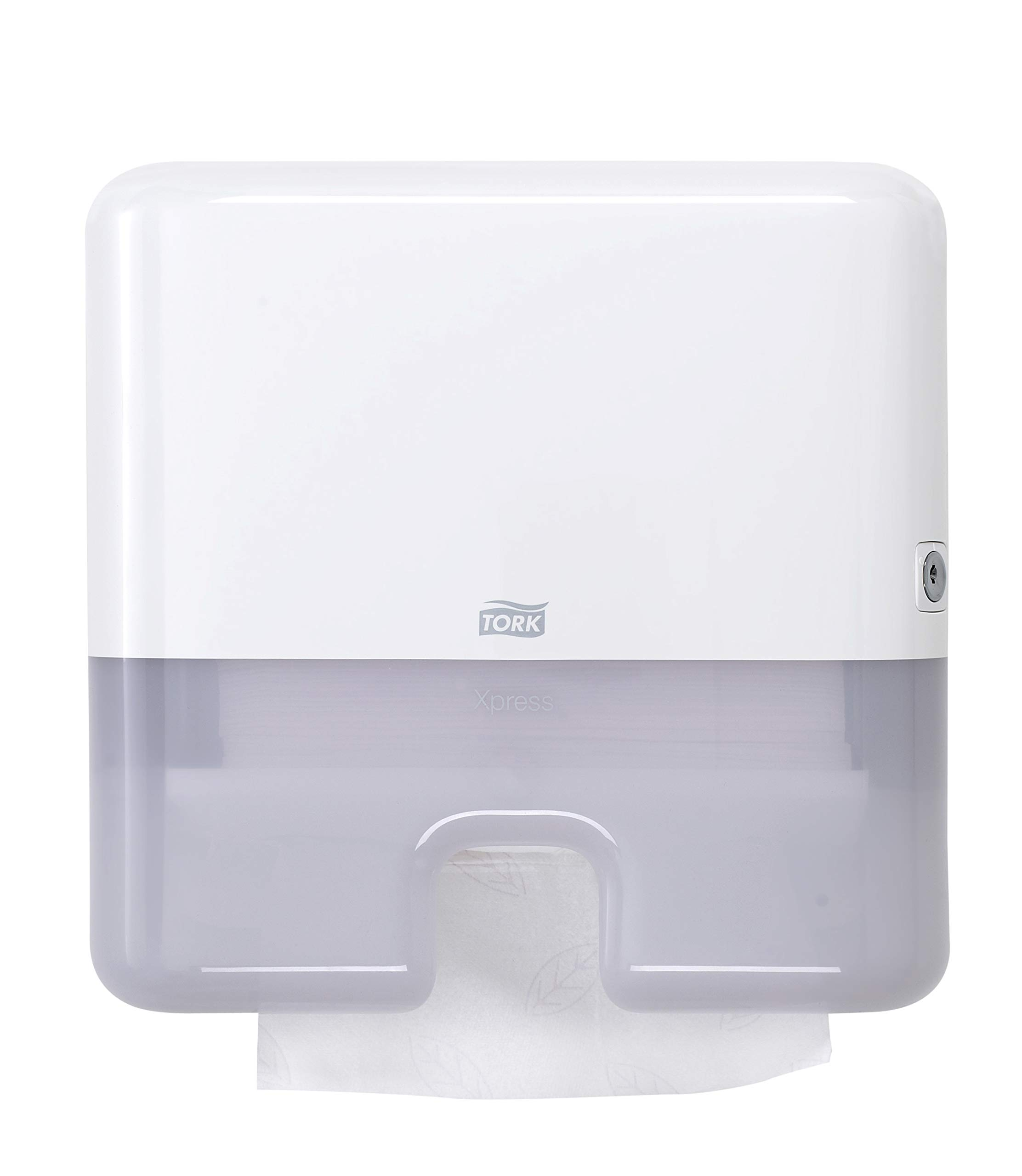 Tork 552120 Elevation Xpress Mini Hand Towel Dispenser, 11.6'' Height x 11.9'' Width x 4.0'' Depth, White (Case of 1 Dispenser) for use with Tork 100297, 420570, 101293, 424814 and 424864