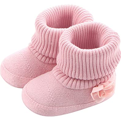 6269ac9945a32 vanberfia Baby Girl Snow Boots Shoes Warm Winter Infant Prewalker Toddler  Snow Boots for 0-18 Months
