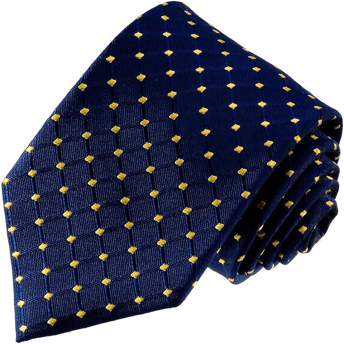 Domenico Viggiano Designer Seiden Krawatte verschiedene Farben gestreift 100/% Seide