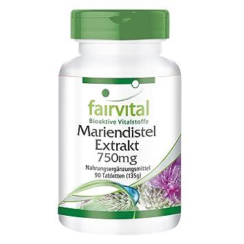 Extracto de Cardo Mariano 750mg - A GRANEL durante 3 meses - VEGANO - ALTA DOSIS - 90 comprimidos - estandarizado a 80% de silimarina: Amazon.es: Salud y ...
