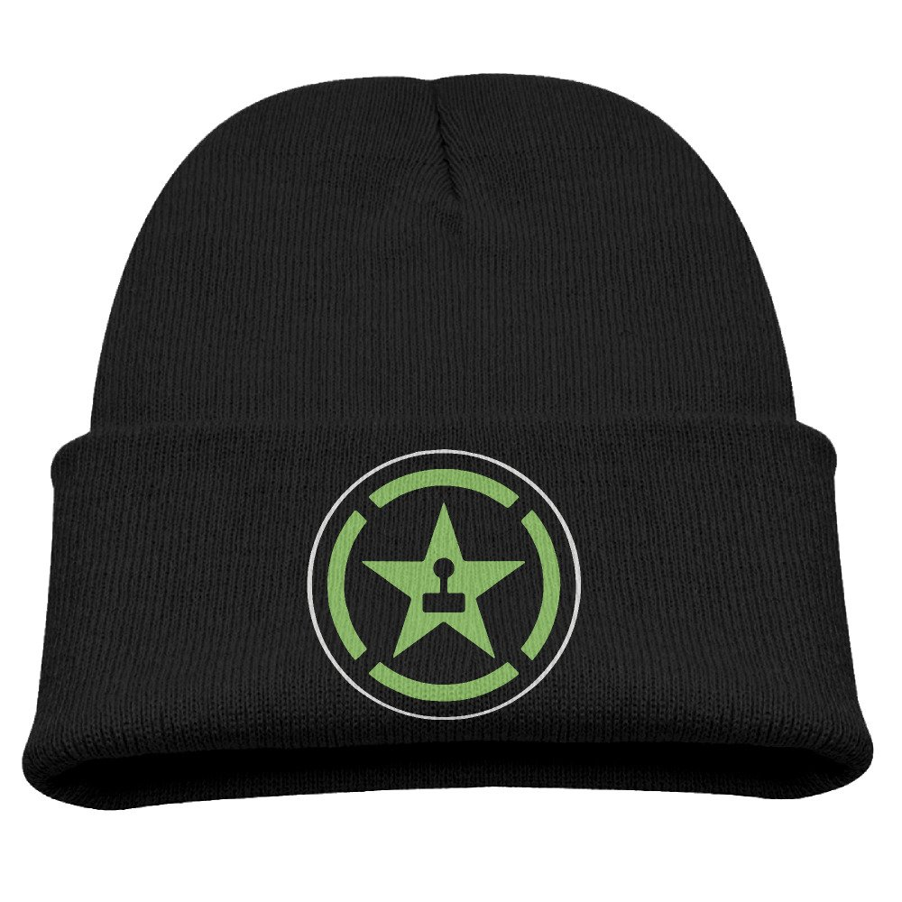 Winter Cap Achievement Hunter Lets Play Star Logo Trendy Soft Kids Harrietoop