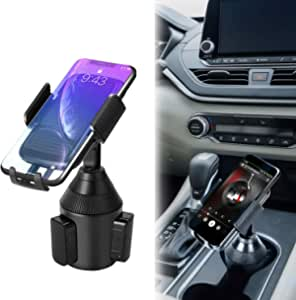 Apsung Car Cup Holder Phone Mount,Universal Adjustable Automobile Smartphone Cup Holder-Cell Phone Cup Mount for iPhone 11 Xs/Max/X/XR/8/7/6 Plus Samsung Galaxy S10/S9/S8 Note 9 Sony/HTC