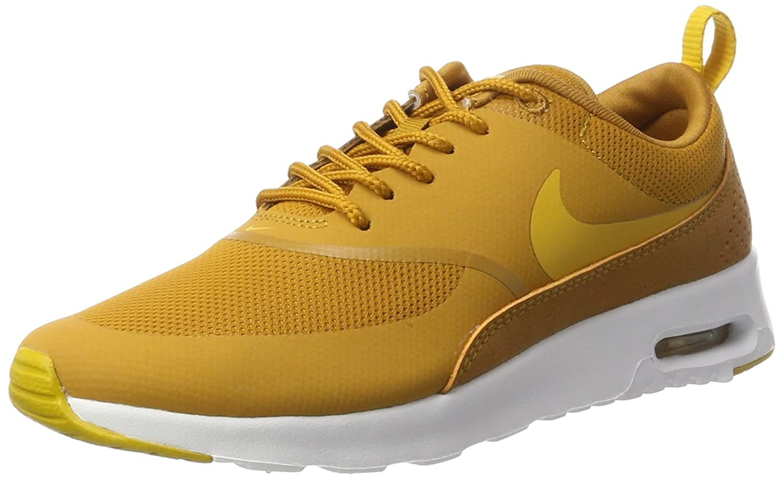 Nike Wmns Air MAX Thea, Zapatillas para Mujer 36.5 EU|Amarillo (Desert Ochre/Gold Dart/White)