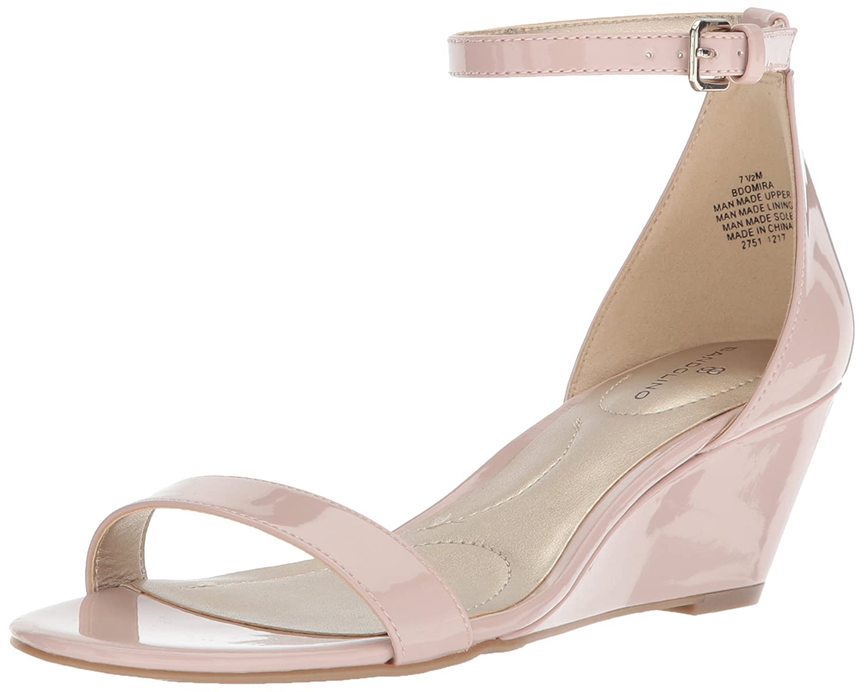 Bandolino Women's Omira Wedge Sandal B077S391YP 10.5 B(M) US Dusty Pink