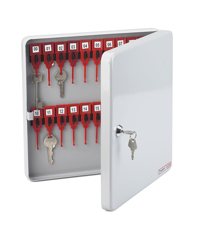 Avery Masterkey Sicherheitsschlüsselkasten, Stahl, für 20 Schlüssel, Hellgrau Hellgrau Hellgrau c1c88b