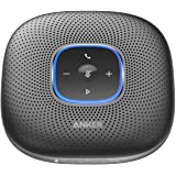 Anker PowerConf Bluetooth Speakerphone, 6 Mics, Enhanced Voice Pickup, 24H Call Time, Bluetooth 5, USB C, Zoom Certified Blue