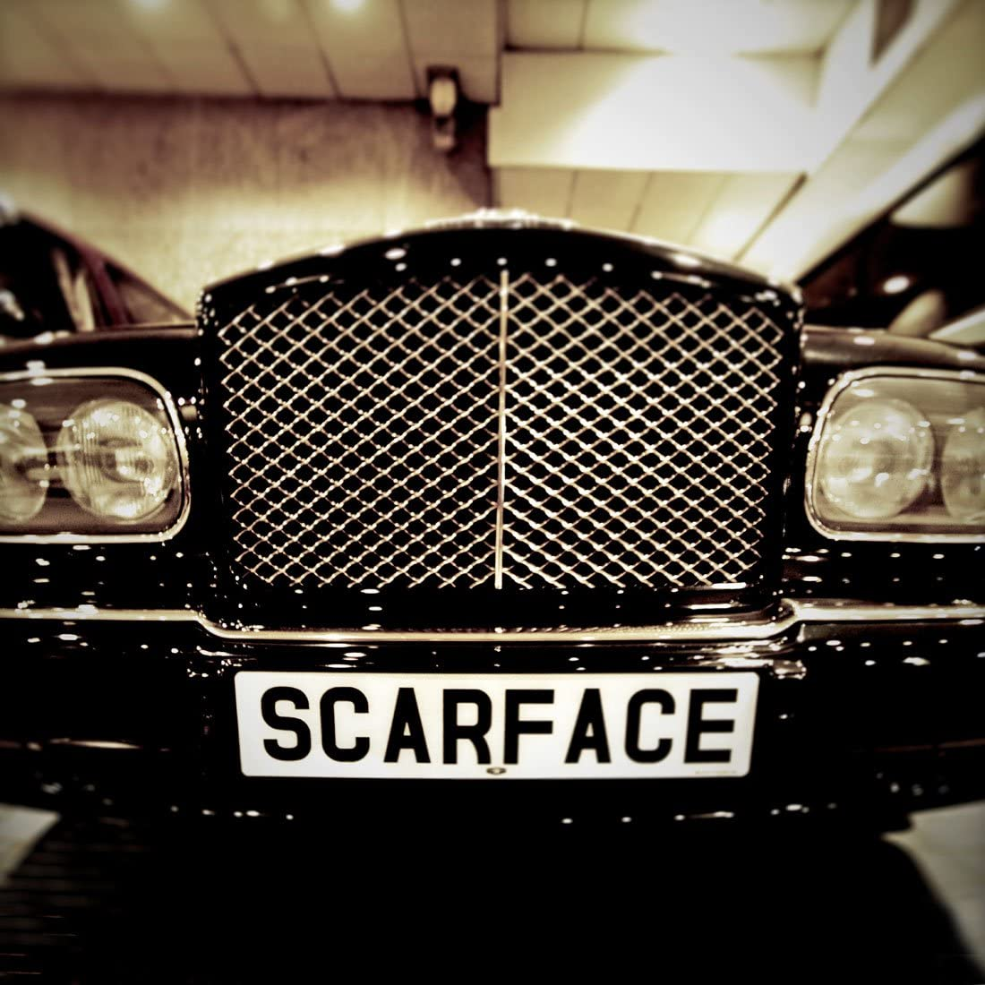 Mr Scarface's Bentley - Sale item Free shipping on posting reviews CANVAS PRINT OR ART WALL
