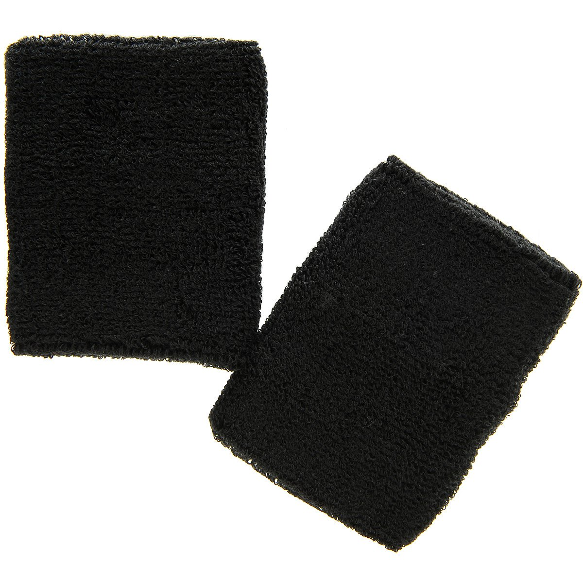 Black 4'' Extra Wide Cotton Wristband