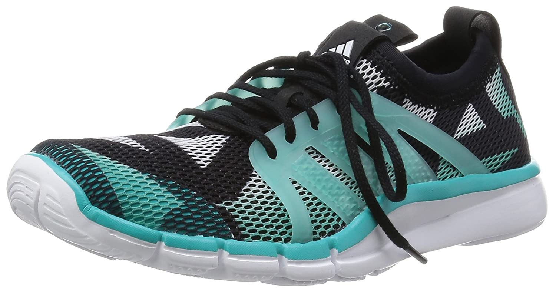 Adidas Core Grace, Scarpe da Corsa Donna Bianco / Nero / Verde Ftwbla / Negbas / Verimp)